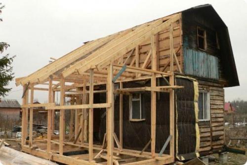 Пристройка террасы к деревянному дому. Что следует знать в самом начале
