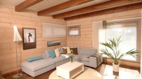 Оформление стен в загородном доме. Внутренняя отделка дачного дома: лучшие варианты