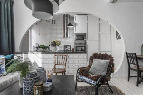 Дома с арками. Арки из гипсокартона (100 фото): идеи дизайна
