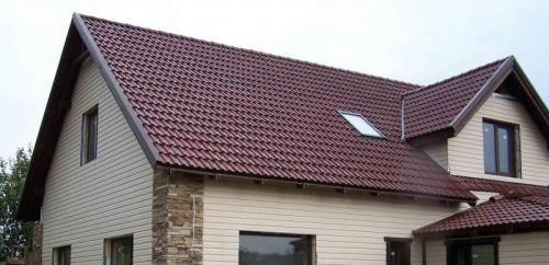 Ломаная крыша мансарды. Разновидности мансардных крыш