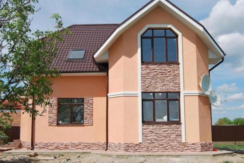 Цвет для фасада дома. Цвет фасада — правила выбора и удачного сочетания. 100 фото вариантов красивого дизайна фасадов частного дома