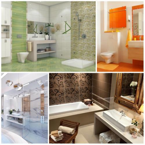 Чем можно заменить плитку в ванной комнате. Требования к материалам для ванной