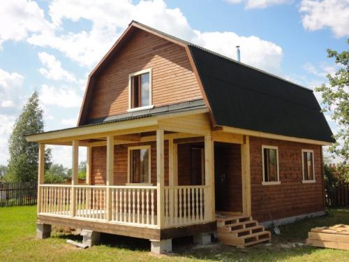 Домик 6 н.  Планировка дома 6 на 6: макеты и проекты одноэтажных и двухэтажных домов (69 фото-идей)