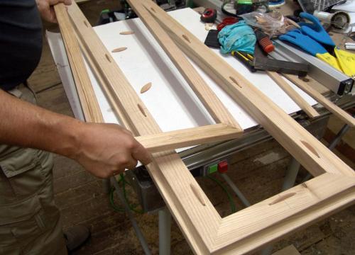 Как сделать окно из дерева самому. Сборка оконной рамы