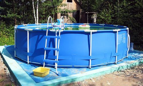 Бассейн своими руками во дворе частного дома. Какие есть виды бассейнов?