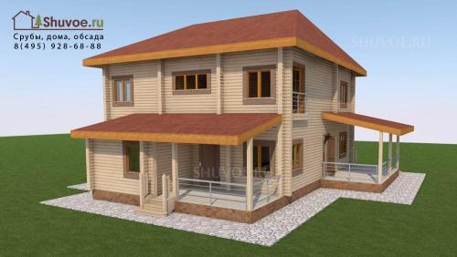 Смета на строительство дома из бруса 10х10. Смета на строительство дома