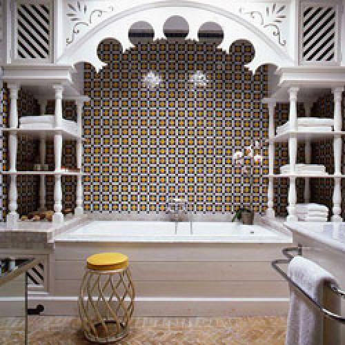Ванная комната в стиле марокко. Ориентализм в интерьере ванной комнаты: мотивы марокканского стиля