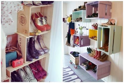 Идеи для хранения обуви своими руками. Калейдоскоп креативных идей для хранения обуви
