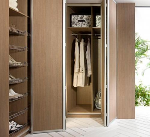 Двери книжка для шкафа. Складная дверь книжка для шкафа