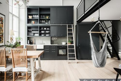Студия квартира в скандинавском стиле. Скандинавский дизайн маленькой квартиры