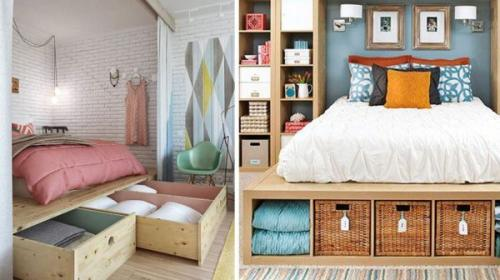Маленькая квартира где хранить вещи и решить вопрос пространства. Полезные советы