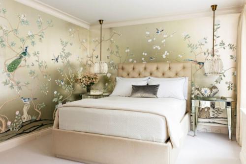 Какие подобрать обои для спальни. Какие обои выбрать в спальню: выбор цвета и материала