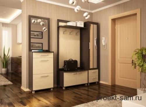 План 4 комнатной квартиры. Прихожая