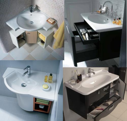 Раковина в ванную размеры. Размеры раковин и умывальников в ванную комнату