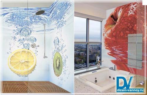 Для украшения ванной комнаты. Варианты украшения ванной комнаты