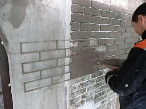 Как в интерьере сделать кирпичную стену. Как сделать имитацию кирпичной стены: краткий перечень способов