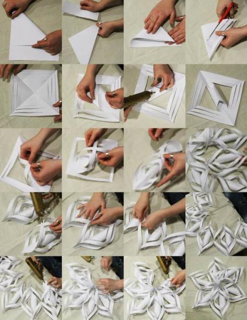Декорации своими руками на Новый год. Как украсить комнату на Новый год декором из бумаги, сделанным своими руками