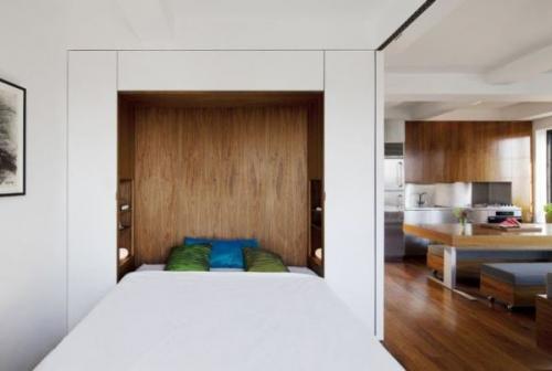 Как обустроить однокомнатную квартиру для двоих. Дизайн с нишей: практичная функциональность