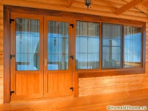 Металлопластиковые входные двери в частный дом. Из чего собираются пластиковые входные двери для частного дома: фото и примеры оформления