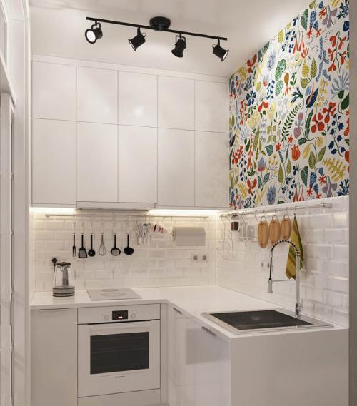 Дизайн кухни 2 м на 2 м. Главные принципы, которым стоит следовать