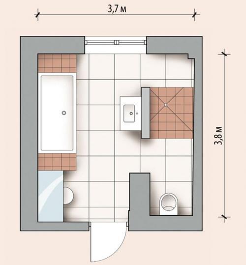 Ванная комната в частном доме. Отделка ванной комнаты в частном доме: особенности планировки