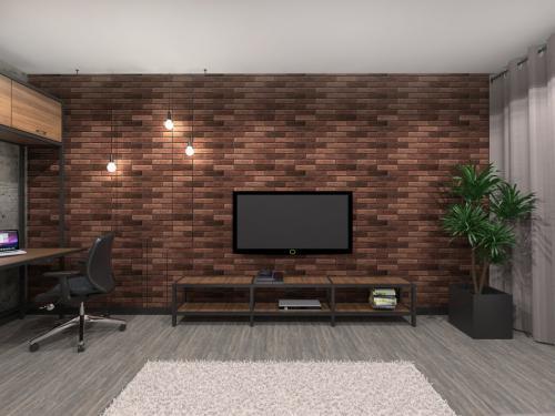 Однокомнатная квартира 44 п. Мебель