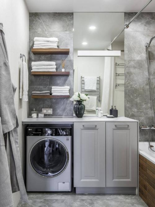 Как обустроить ванную комнату маленькую. Плитка для маленькой ванной комнаты