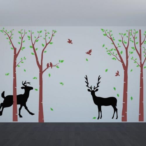 Как нарисовать дерево на стене своими руками пошагово. Изобразите дерево своими руками