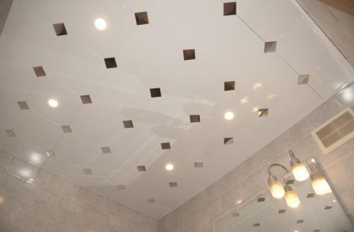 Необычный потолок своими руками. Создаем неповторимость и изысканность