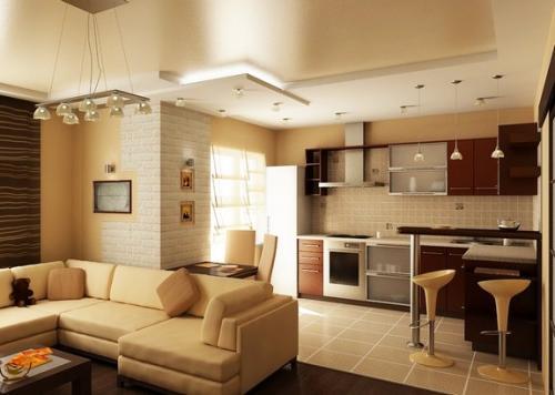 Что такое кухня-ниша в квартире. Что такое кухня-ниша