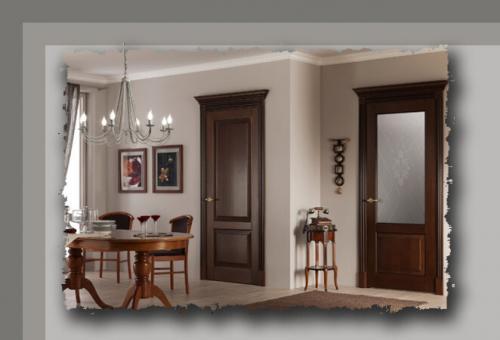 Как выбрать цвет межкомнатных дверей в квартире. Межкомнатные двери: как правильно подобрать цвет двери, чтобы она гармонично смотрелась в интерьере