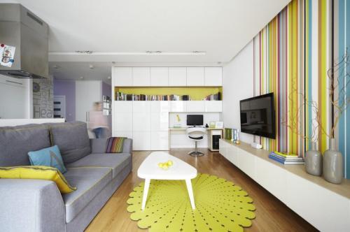 Дизайн проект малогабаритной квартиры. Основные приемы обустройства небольшой квартиры