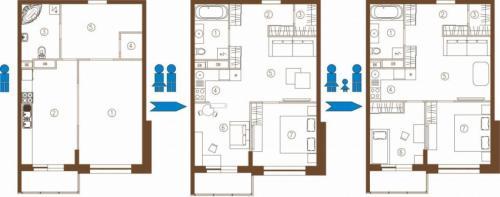Ремонт квартиры своими руками с чего начинать вторичное жилье. Перепланировка помещений