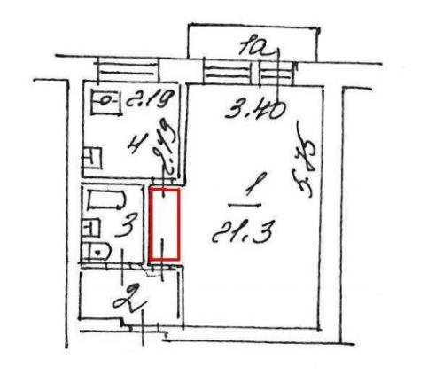 Перепланировка хрущевки 1 комнатной. Что такое перепланировка и как ее оформить