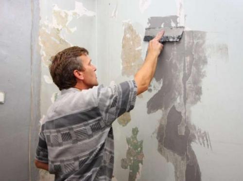 Стены под покраску в ванной. Подготовительные работы
