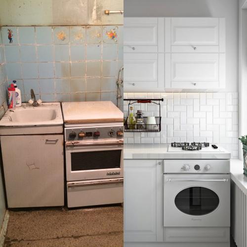 Ремонт в хрущевке до и после. Ремонт «убитой» трёшки в хрущёвке 55 м : фото до и после