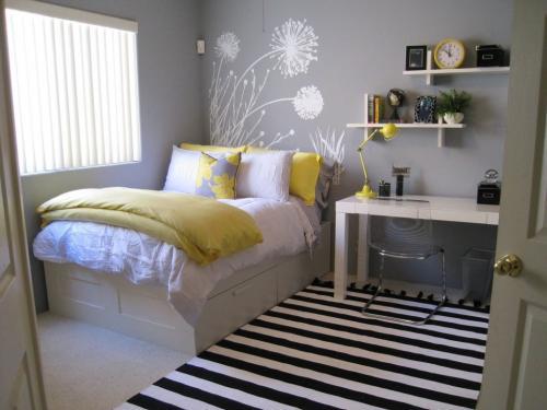 Ремонт комнаты маленькой дизайн. Ремонт в маленькой комнате: преимущества и сложности