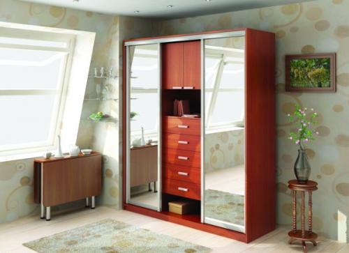 Встроенный шкаф с распашными дверями своими руками. Разновидности моделей шкафов