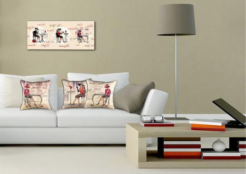 Как правильно повесить картину над диваном. На какой высоте вешать картину?