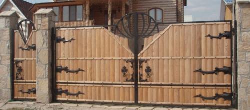 Распашные ворота своими руками чертежи схемы. Ворота своими руками – 120 фото, чертежей и эскизов не сложных современных и классических вариантов ворот