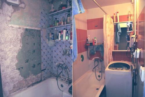 Бюджетный вариант ремонта ванной комнаты. Как сделать бюджетный ремонт ванной комнаты: 9 реальных идей