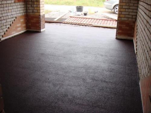 Чем застелить бетонный пол в гараже. Бетонный пол