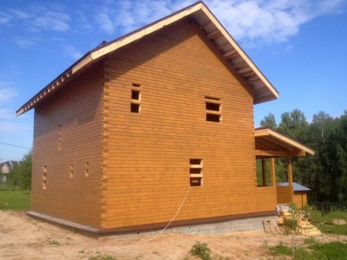 План дома 8 на 8 двухэтажный. Планировка двухэтажного дома