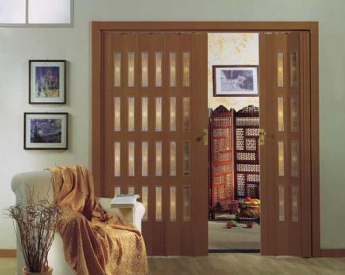 Инструкция по сборке двери гармошка. Что представляют собой раздвижные двери гармошка