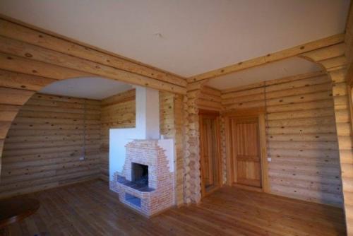 Как задекорировать несущую балку под потолком в квартире. Потолок каркасного дома