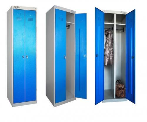 Шкафчики для раздевалок на завод. Преимущества и недостатки