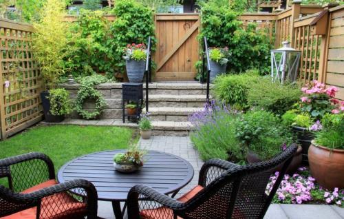 Дизайн малого садового участка. Идеи и варианты ландшафтного дизайна на маленьком участке перед домом