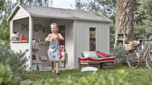 Дизайн детских домиков на даче. Домик для детей: как сделать своими руками красивый и стильный домик. 70 фото и проектов