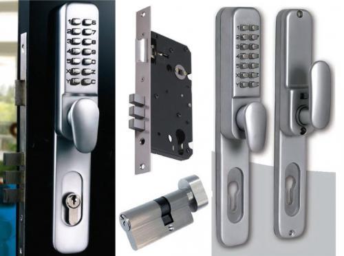 Как установить кодовый замок на металлическую дверь. Принцип работы