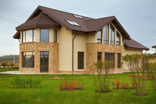 Дизайн фасада частного дома. Фасад дома — 110 фото лучшего дизайна. Варианты современных материалов для красивой отделки фасада